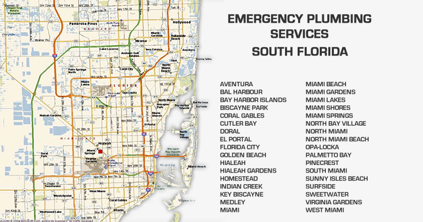 Emergency Plumber Miami